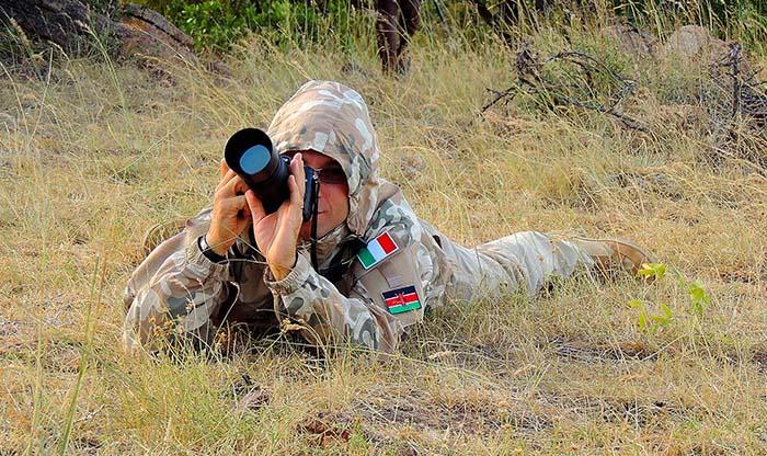 Foto e Video durante un Safari in Kenya